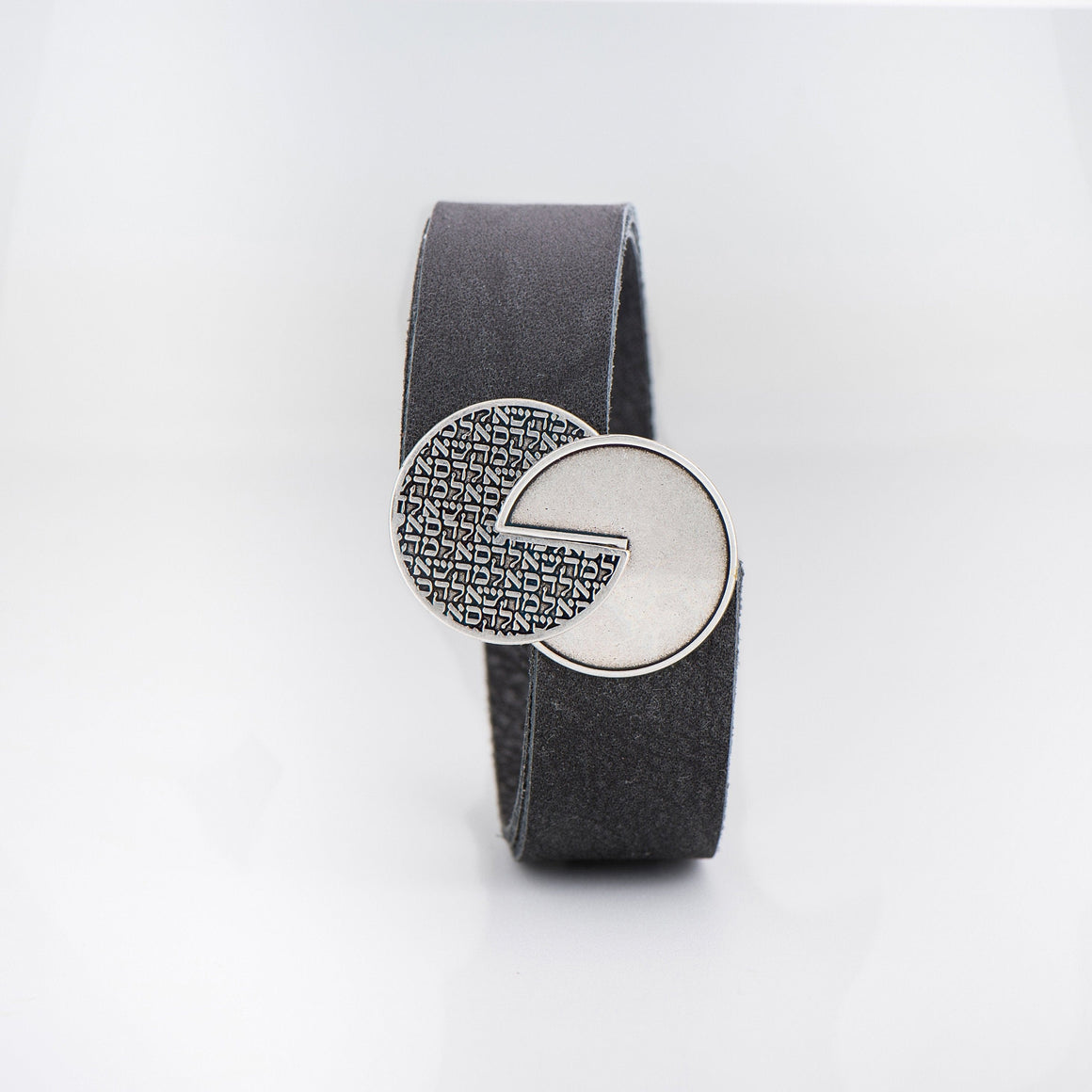 Men's Bracelet, Leather Bracelet, Silver Bracelet,