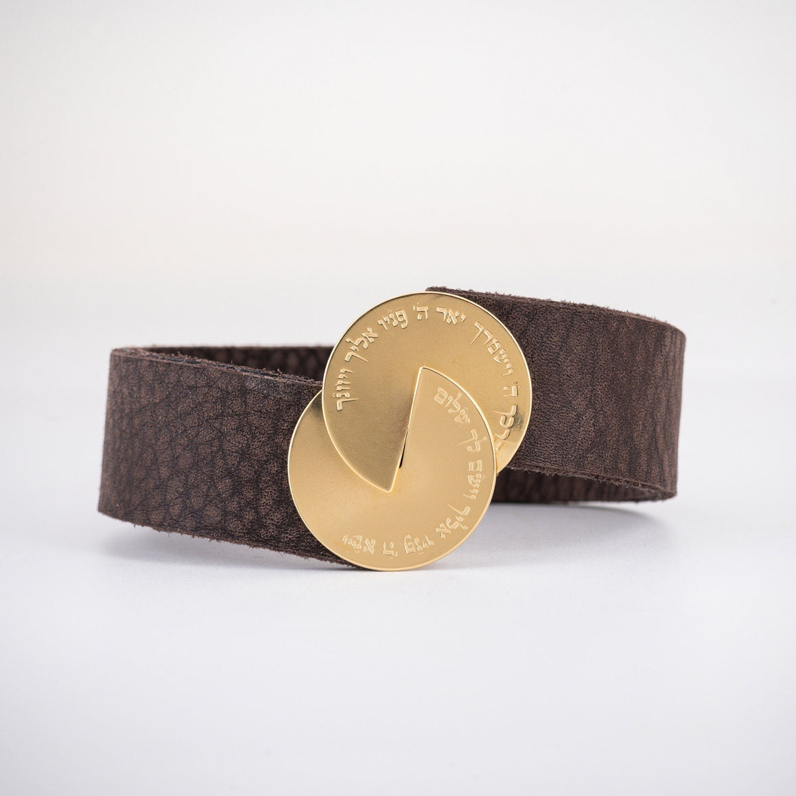 Men's Leather Bracelet, Men's Bracelet, Gold
