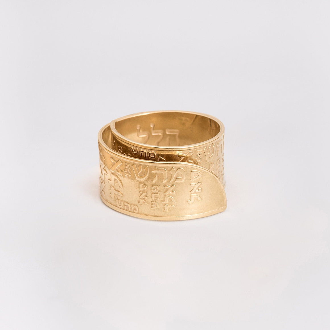 Men's Ring, Men Gold Ring, Engraved