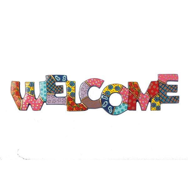 Metal Wall Hanging - Welcome