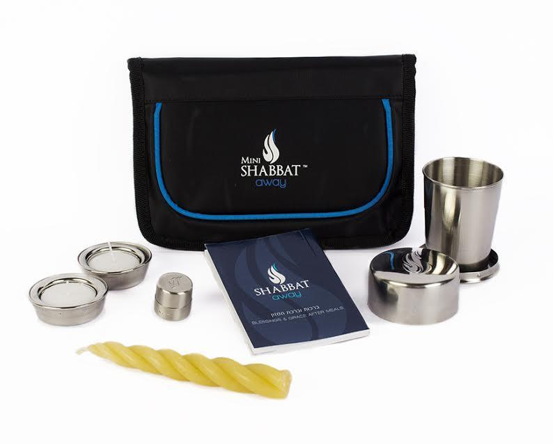 Mini Shabbat Away Travel Set - 5 Piece