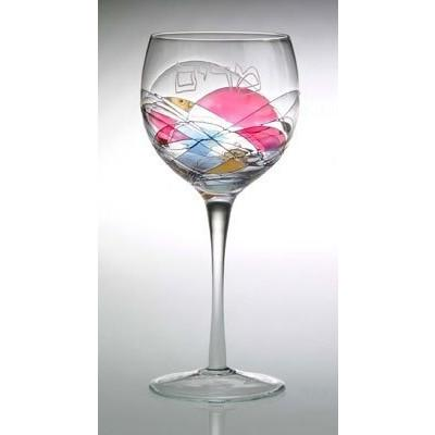 Miriam Ribbon Glass Goblet