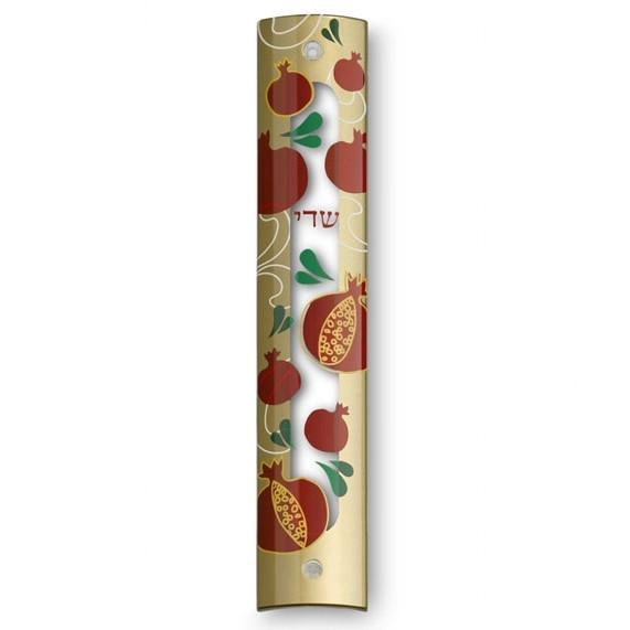 Modern Mezuzah Scroll Cases - Graphic Technology