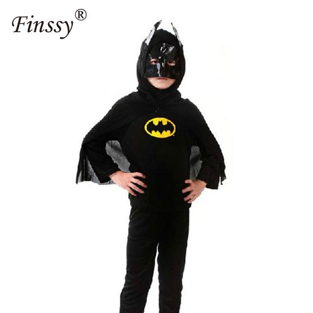Movie Black, Red Spiderman, Batman Costumes for Boy