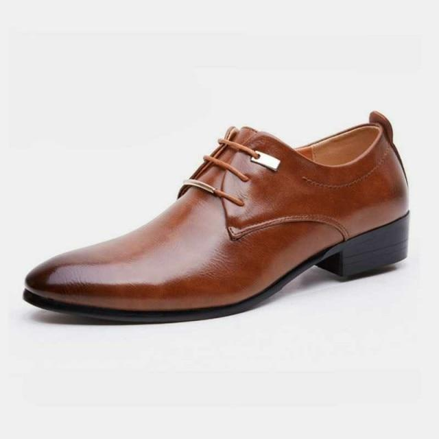 New Men's Oxford Luxury Leather Shoes
