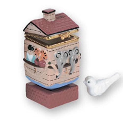 Noah'S Ark Dreidel Trinket Box Collectibles
