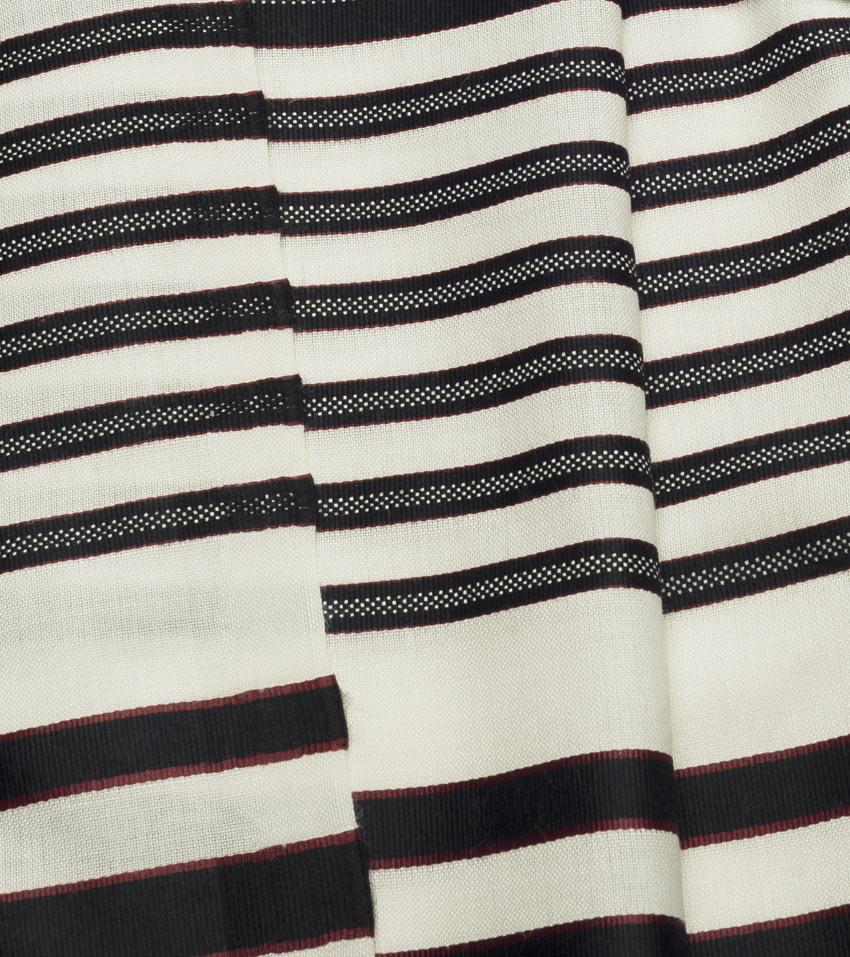 "Or (Light) Wool Textured Tallit in 5 Colors 24 x 67"" / 60 x 170cm (30) Black"