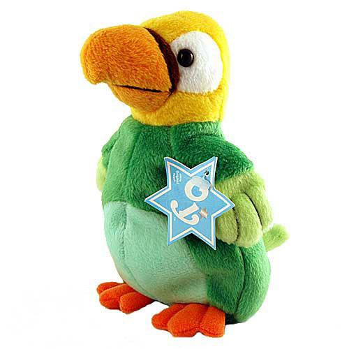 "Oy Macca Beans Collectibles ""Kibbitzâ The Parrot "" Beanie Plush"