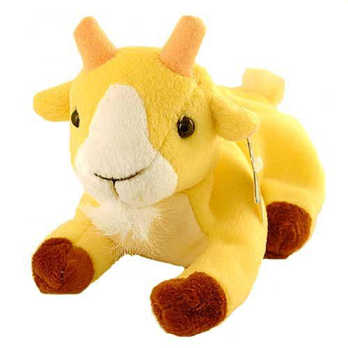 "Oy Macca Beans Collectibles ""Kiddishâ Goat "" Beanie Plush"