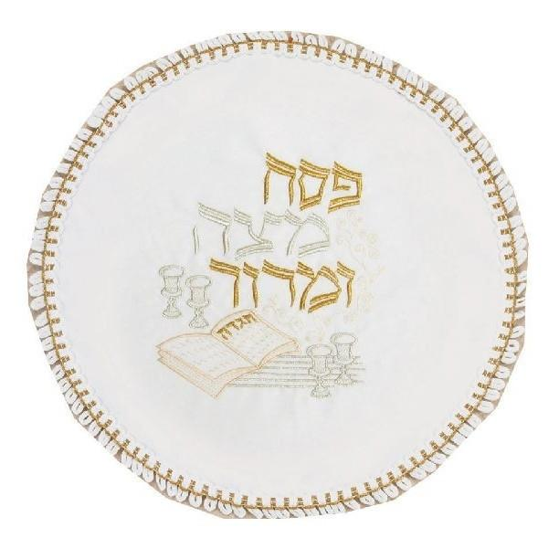 Passover Matzah Cover - Terylene Embroidery to 10 letters