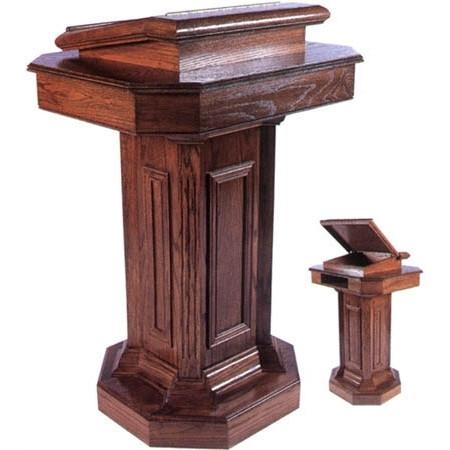 Pedestal Pulpit Custom