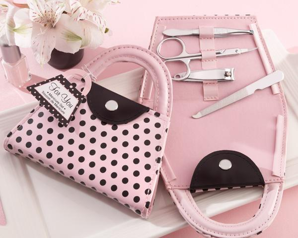 'Pink Polka Purse' Manicure Set 'Pink Polka Purse' Manicure Set