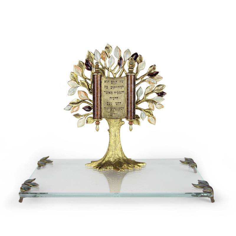 Presentation Tree of Life Scroll Plaque & Award