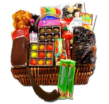 Rosh Hashanah Delights Executive Gift Basket Gift Basket