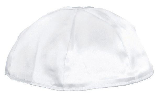 Satin Lined Yarmulke. Available In Different Colors. Price Per Dozen.