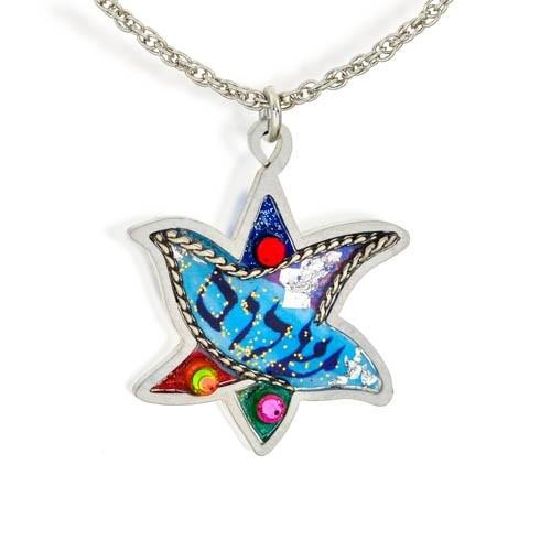 Shalom Dove Necklace