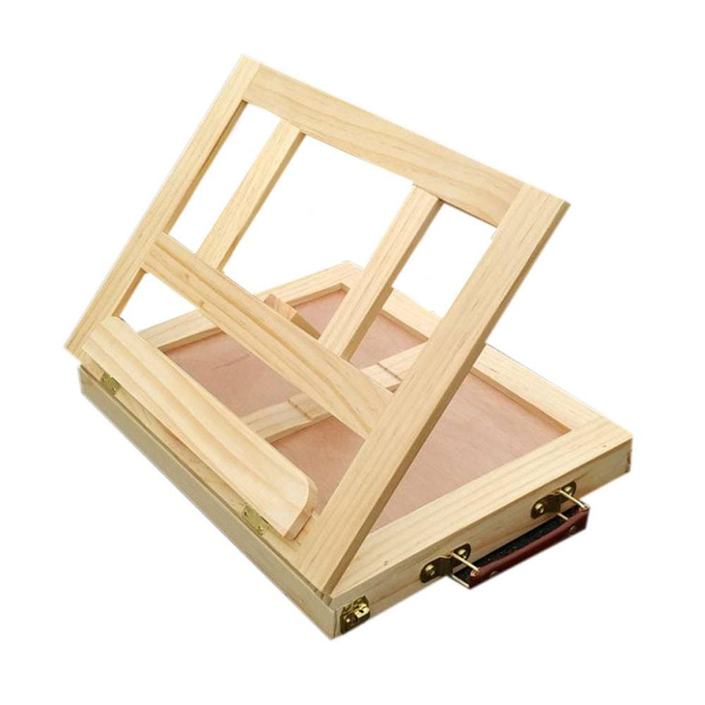 Shtender & Wooden Box In One ! furniture