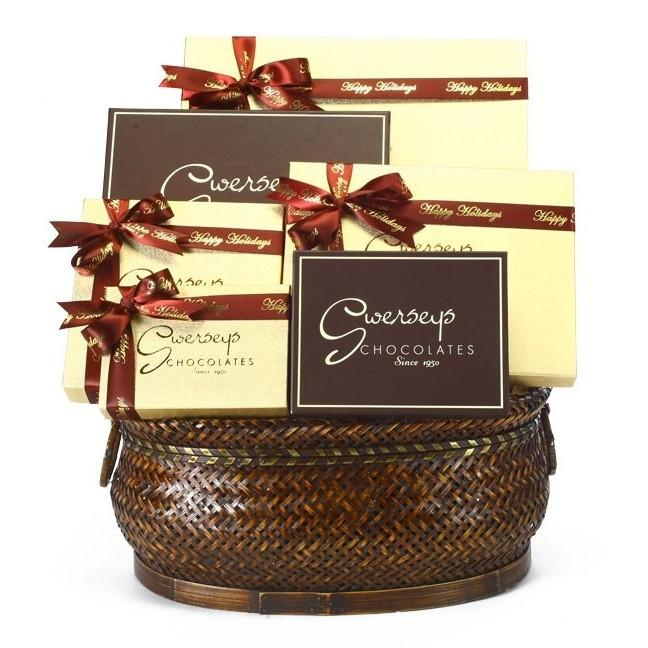 Signature Kosher Chocolate Gift Basket Gift Basket