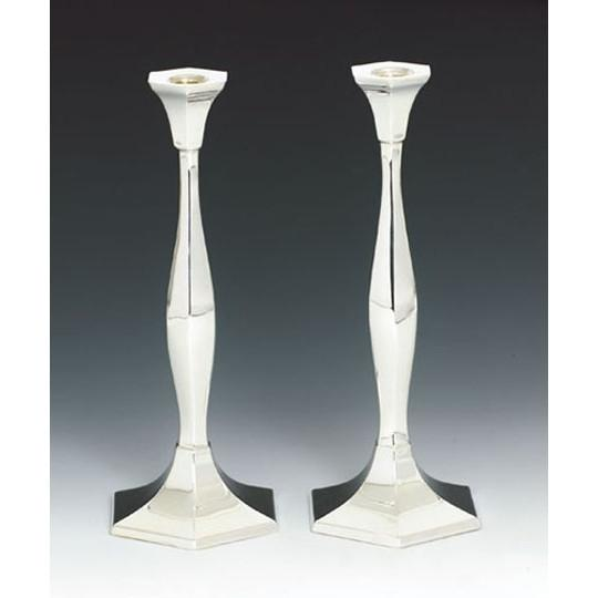 Silver Candlesticks Pair Goldwasser