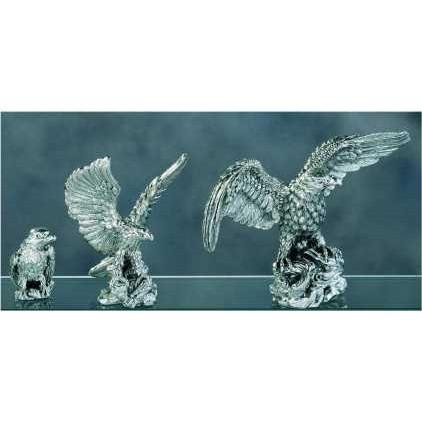 Silver Eagles Figurine