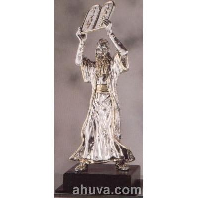 Silver Figurine Of Moses (Large)