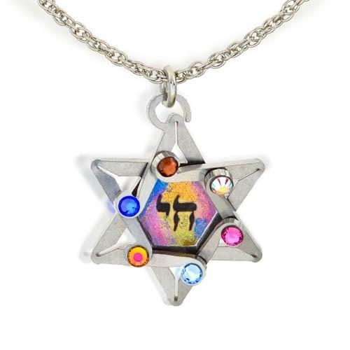 Star And Chai Necklace