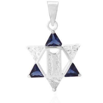 Star Necklace Pendant Torah Tablets None Thanks Multicolor