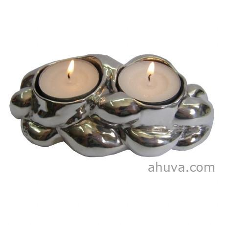 Sterling Silver Candlesticks Challah