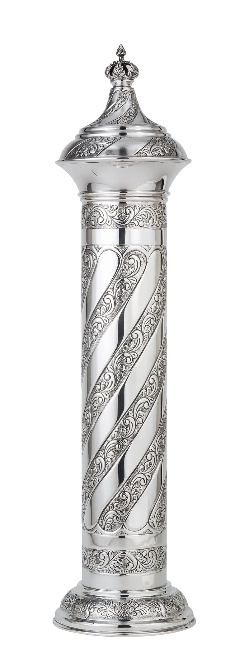 Sterling Silver London Megillah Case