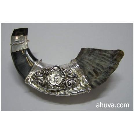 Sterling Silver Old Coin Ram'S Horn