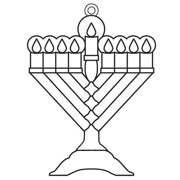 Suncatchers - Menorah - Bulk