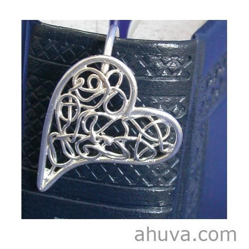 Swirly Heart Bookmark