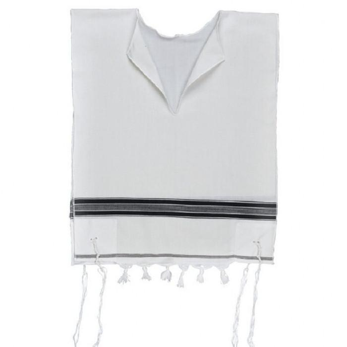Tallit Katan Tzitzit In Wool With Fringes