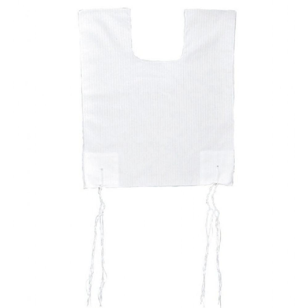 Tallit Katan - Tzitzit Tzitzis Poly Cotton V neck #26 X-Large Adult None Tied Thanks