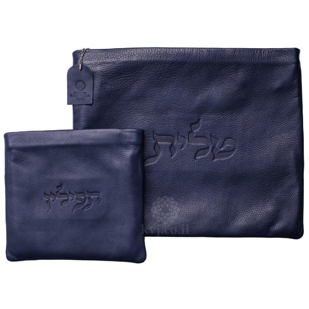 Tallit & Tefillin Bags - Leather Black None Thanks
