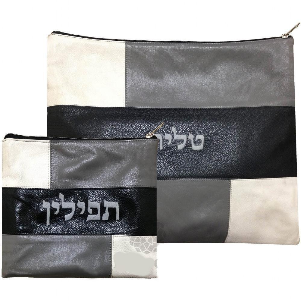 Tallit & Tefillin Bags - Leather None Thanks