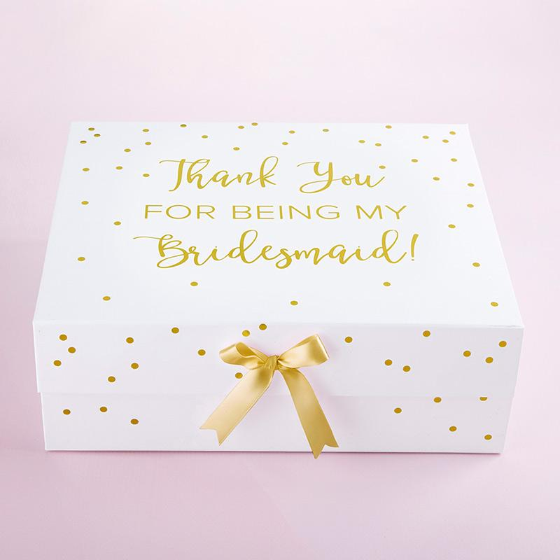 Thank You For Being My Bridesmaid Kit Gift Box (White) Thank You For Being My Bridesmaid Kit Gift Box