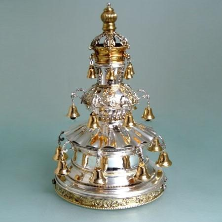 Torah Crown - Sterling Silver Triple Tier