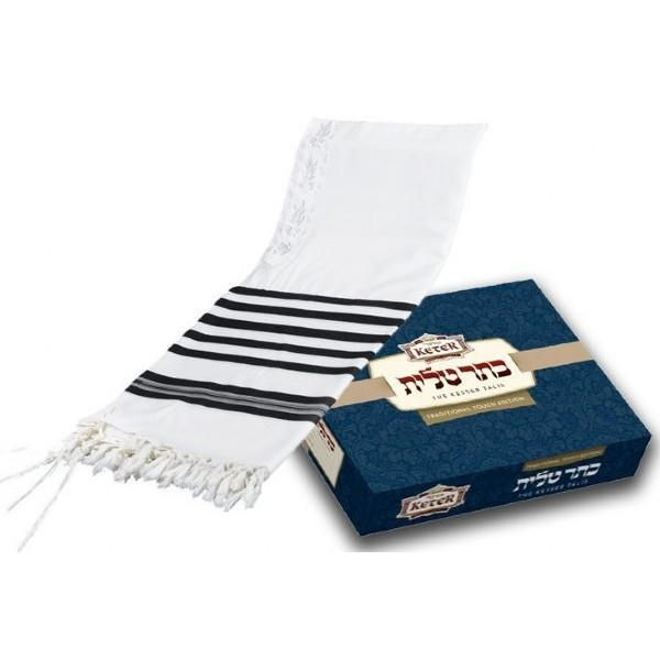 Traditional Touch Super Prima Prayer Shawl Tallit
