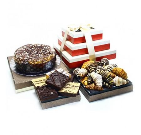VIP Collection, Meltaway, Rugelach And Assorted Brownies Gift Basket