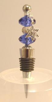 Wine Bottle Stopper Purple