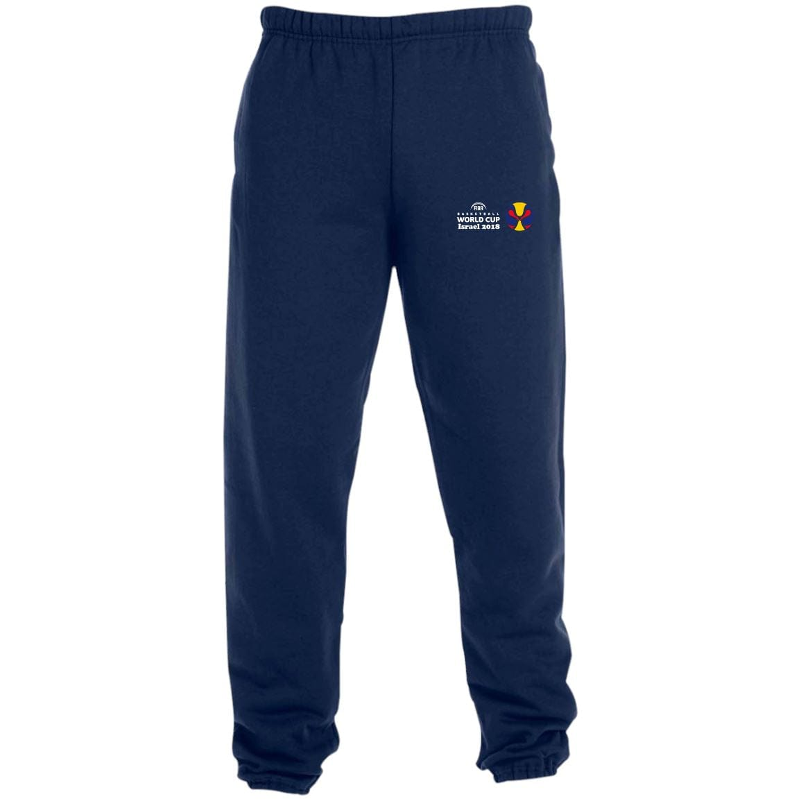 World Cup Israel Basketball Sweatpants with Pockets Pants Black S