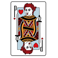 Queen of Hearts Enamel Pin (PATRON-ONLY)
