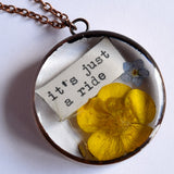 """It's Just A Ride"" necklace (PRE-ORDER)"