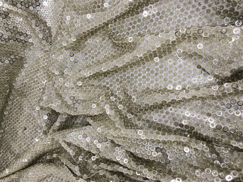 ZXQ567 Double-Sequined Tulle