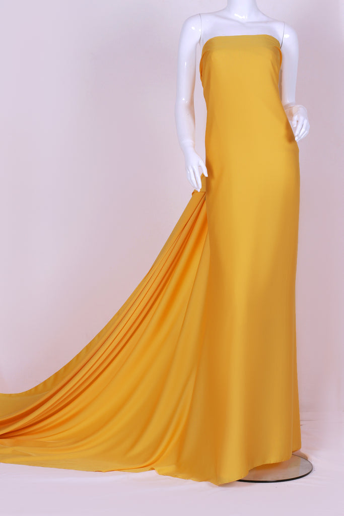 ZXQ446 light yellow satin