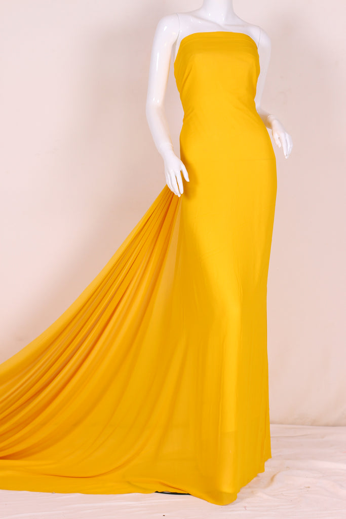 G120 Yellow Georgette
