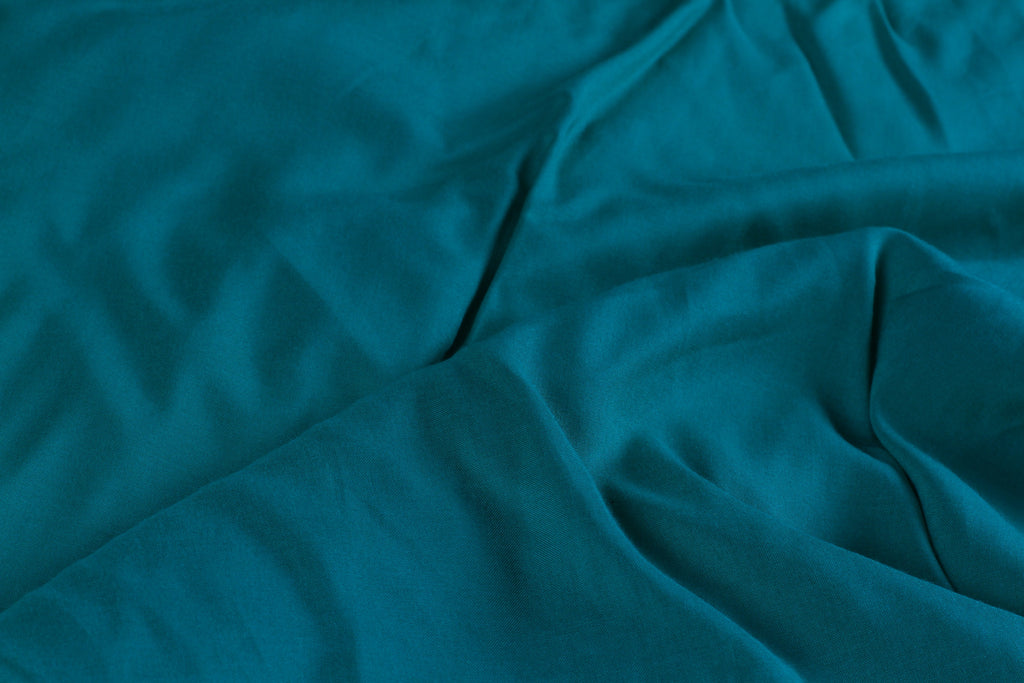 K152 Plain Turquoise Cotton From Thailand