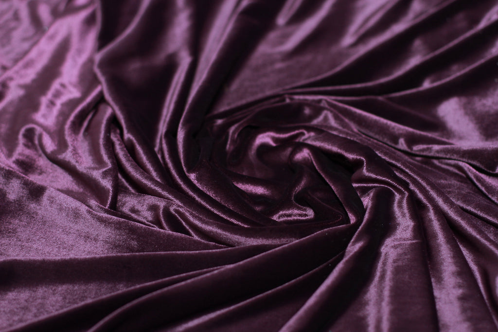 ZXQ624 Purple Trump Velvet