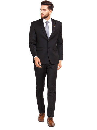 Buy this black mens designer suit online